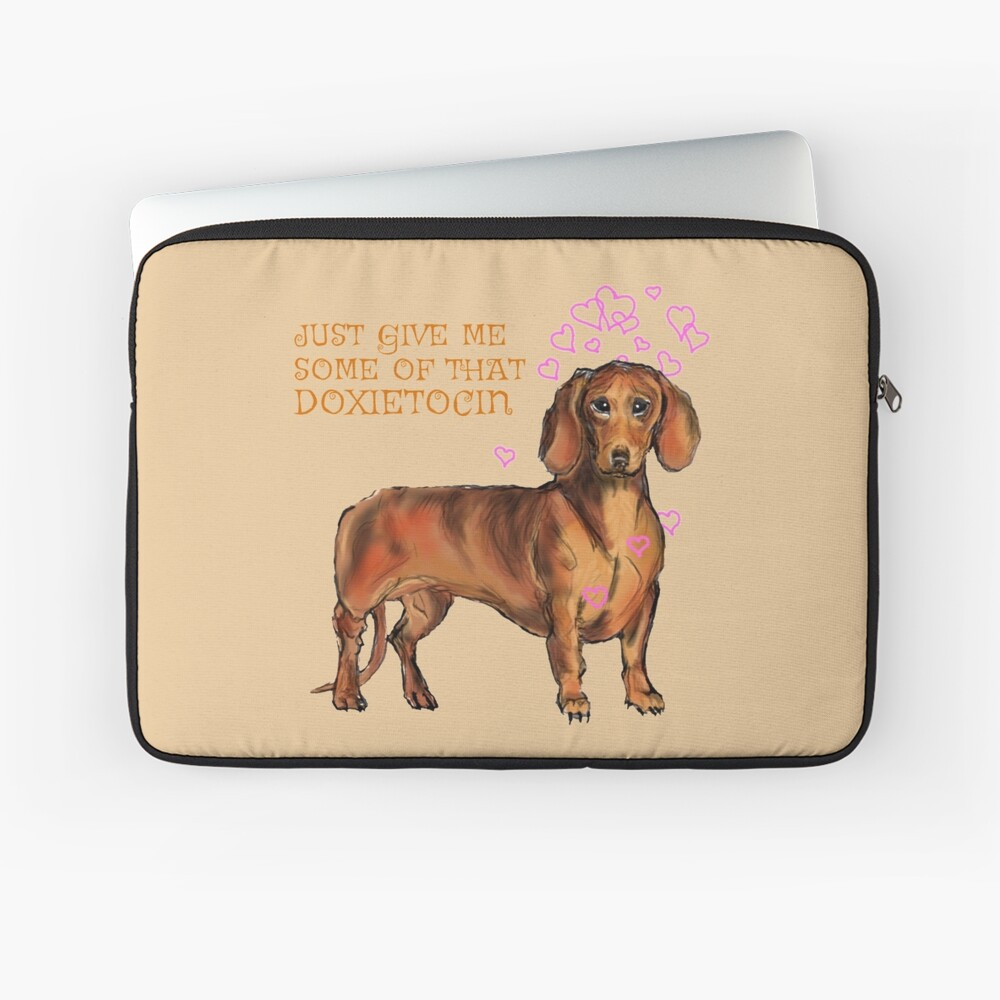 Doxietocin Laptop Sleeve