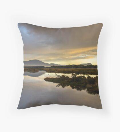 Marion Bay Wetlands Throw Pillow