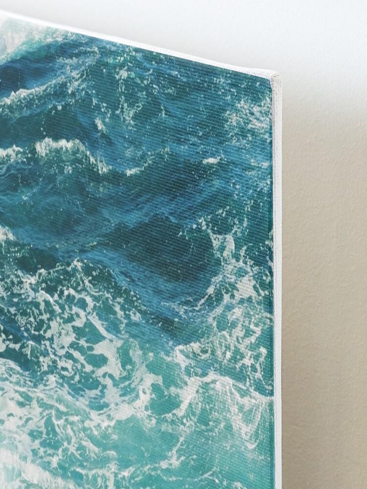 Alternate view of Blue Ocean Waves  Mounted Print