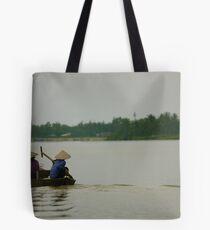 Thu Bon River Tote Bag