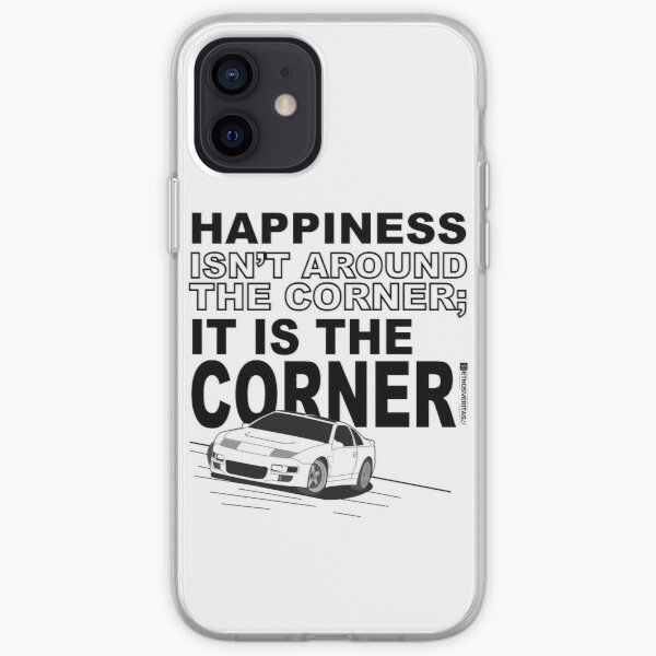 Happiness is the Corner iPhone Soft Case
