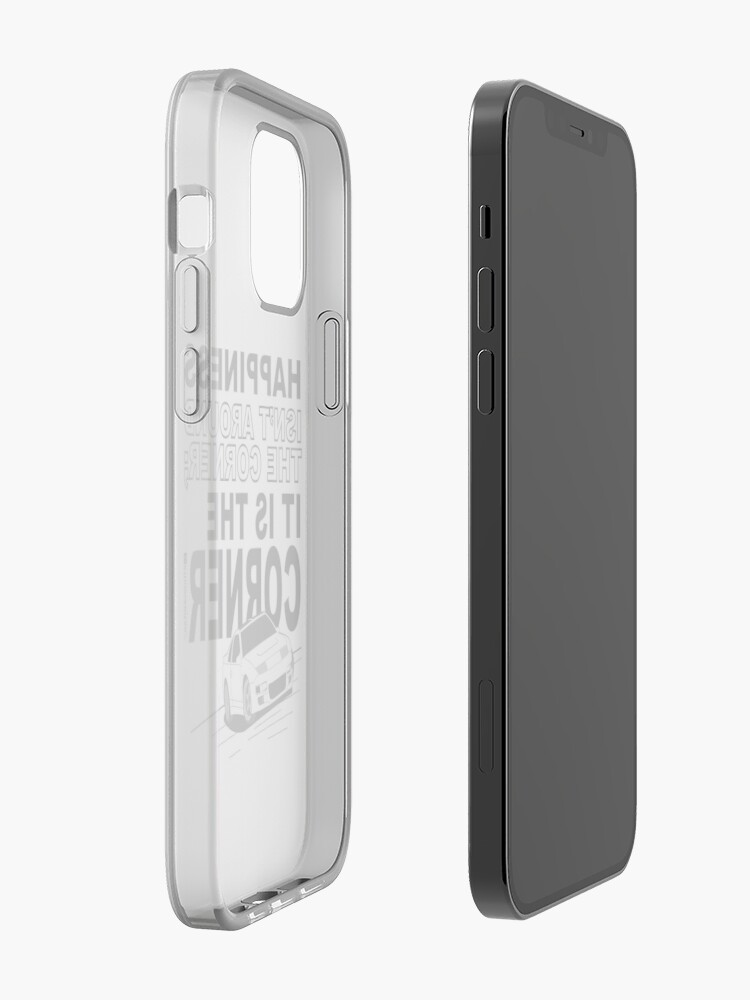 Alternate view of Happiness is the Corner iPhone Case & Cover