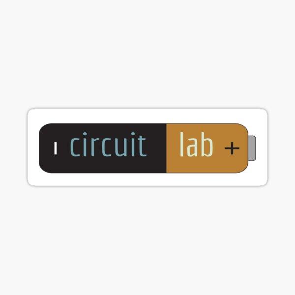 Circuit Lab Sticker Sticker