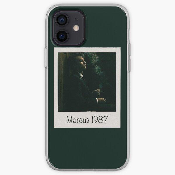 Marcus Smoking Polaroid, 1987  iPhone Soft Case