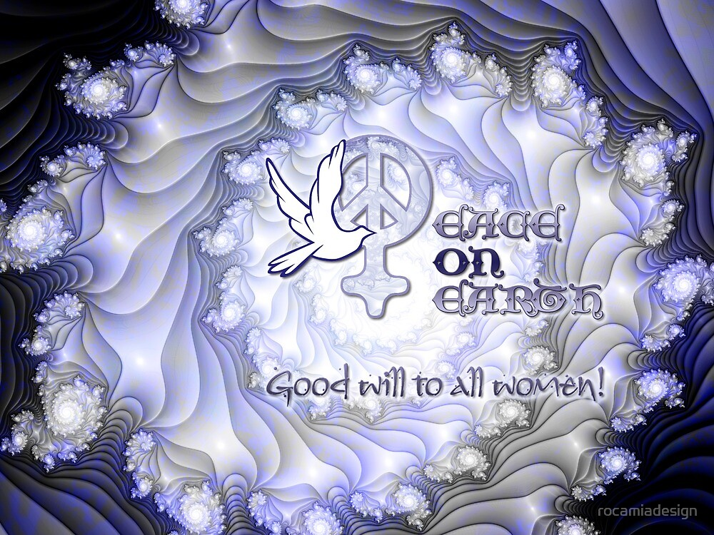 Good Will to All Women Card by rocamiadesign