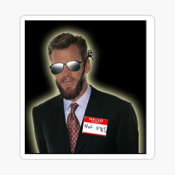 Glowing Agent Sticker