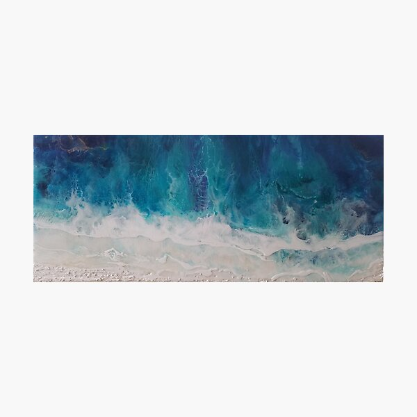 Blue Waters by Ruby Marr Photographic Print