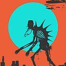 Kaiju Stroll by RoosterRepublic