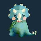 Triceratops by Karin Taylor