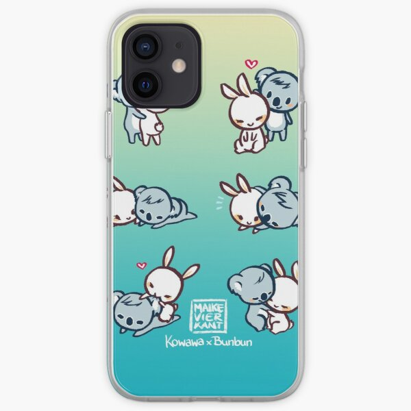 Kowawa x Bunbun Teal Version iPhone Soft Case