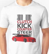 Clutch Kick Drift Unisex T-Shirt