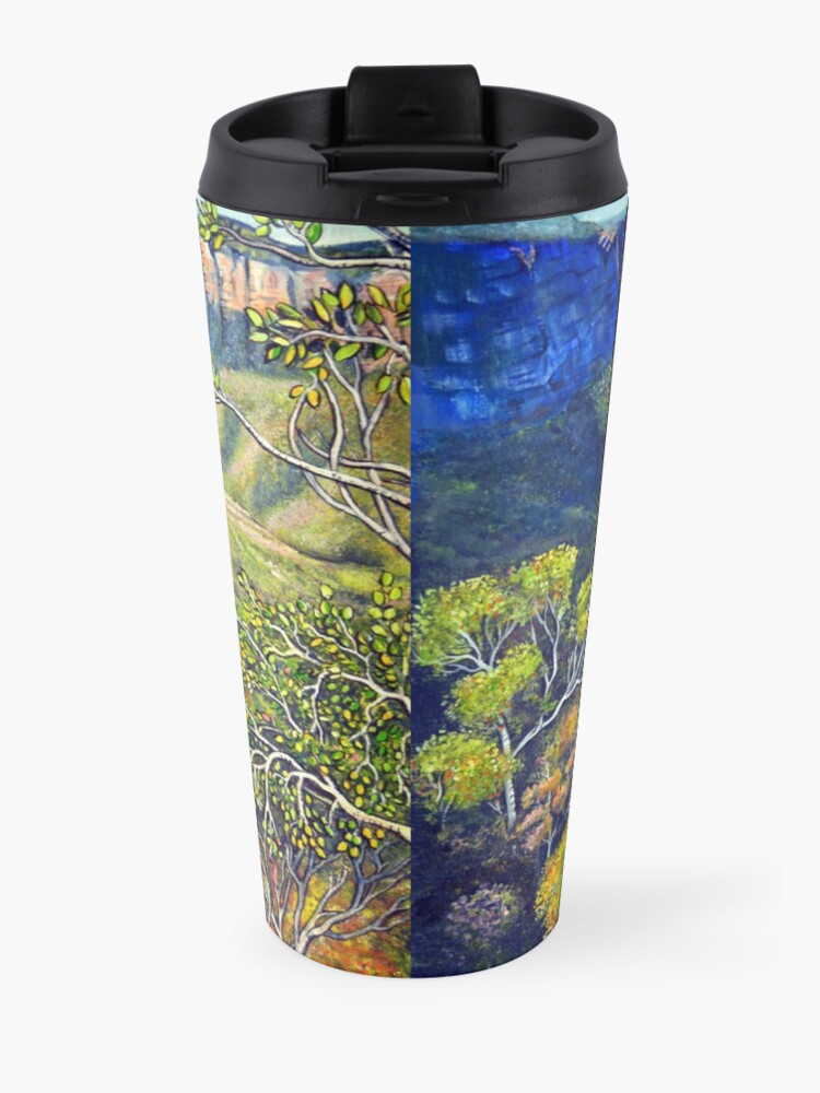 Alternate view of Govetts Leap Lookout, Blue Mountains Travel Mug