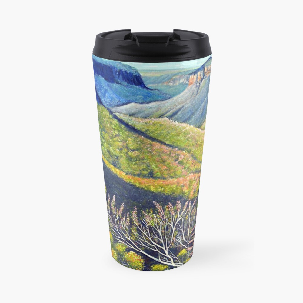 Govetts Leap Lookout, Blue Mountains Travel Mug