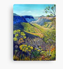Govetts Leap Lookout, Blue Mountains Canvas Print