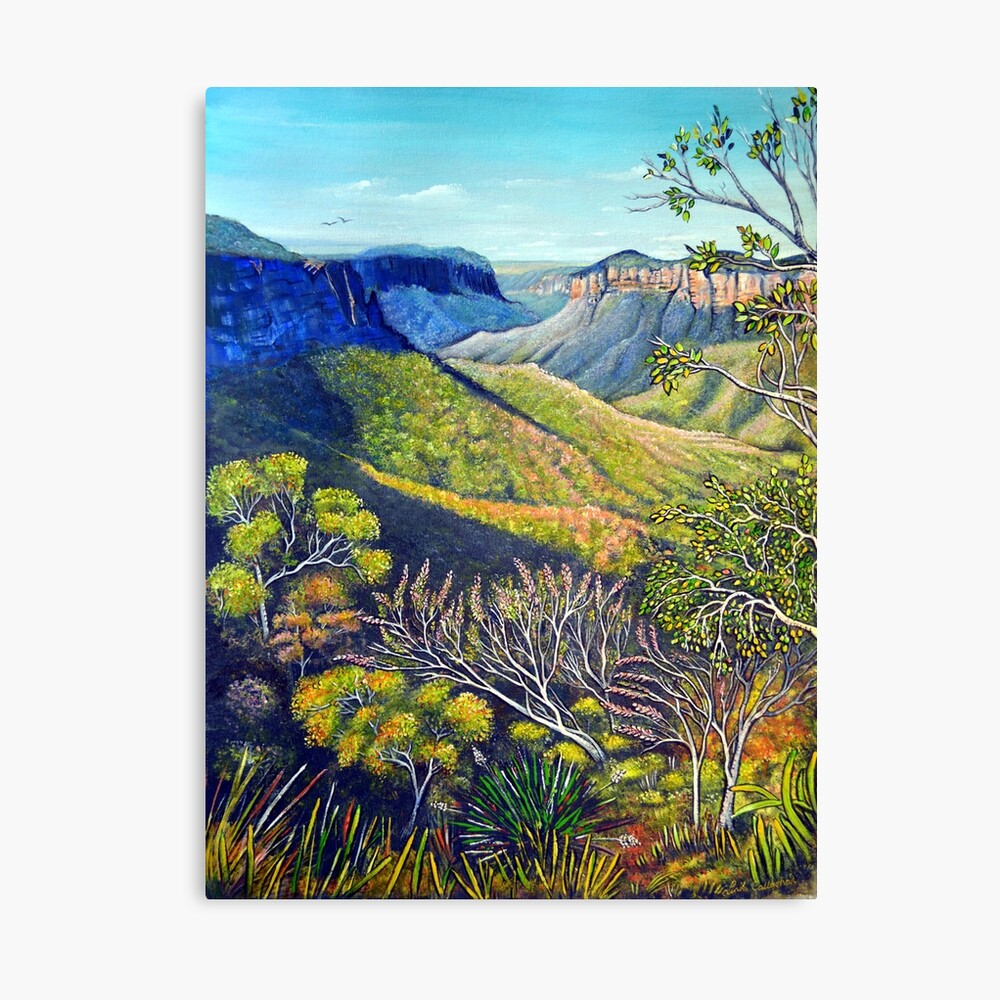 Govetts Leap Lookout, Blue Mountains Canvas Print
