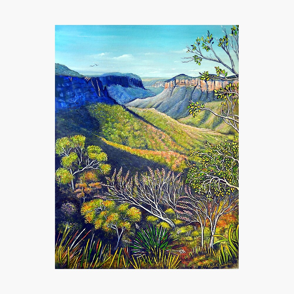 Govetts Leap Lookout, Blue Mountains Photographic Print
