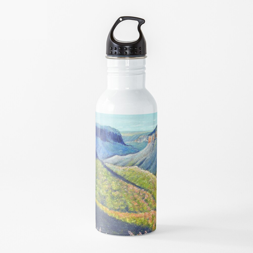 Govetts Leap Lookout, Blue Mountains Water Bottle