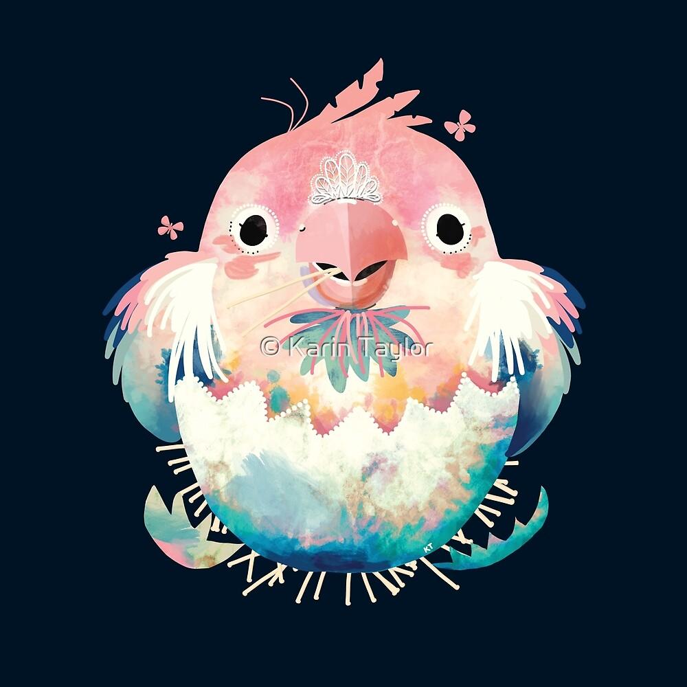 Peach Faced Lovebird by Karin Taylor