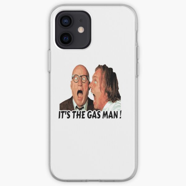 Bottom Ritchie and Eddie - Its The Gas Man iPhone Soft Case
