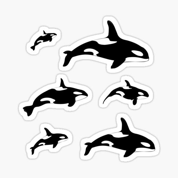 Orca Killer Whale Stickers Sticker