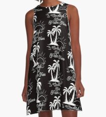 Courtney Hebert. Cocktails And Palm Trees A-Line Dress
