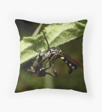 Disguised Killer Throw Pillow