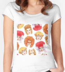 Four Faces of Toyah Women's Fitted Scoop T-Shirt