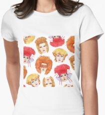 Four Faces of Toyah Women's Fitted T-Shirt