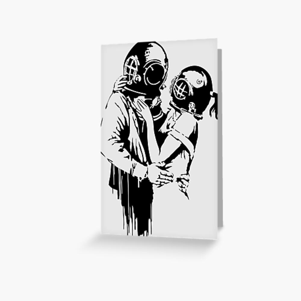 Think Tank Canvas Urban Art Print Banksy