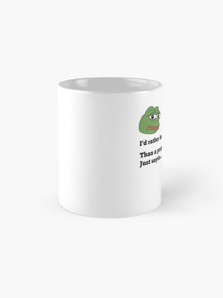 Alternate view of Seek Truth Mug
