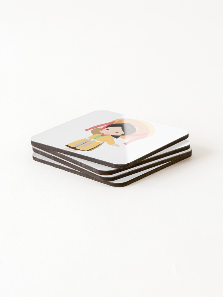 Alternate view of Vietnamese traditional four parts dress Coasters (Set of 4)