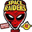 Space Raiders Beef - Worn Look by pickledjo
