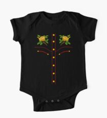 Texas Rose Western Style T-Shirt Short Sleeve Baby One-Piece