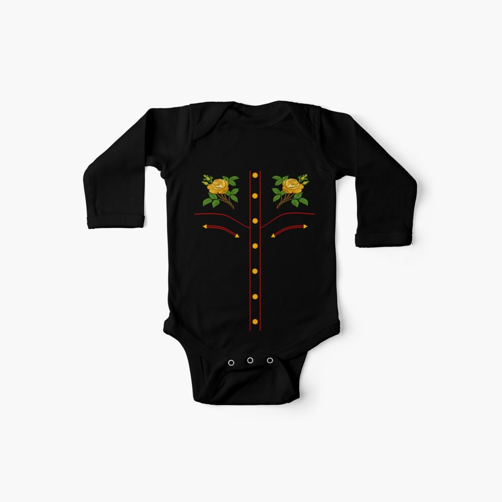 Texas Rose Western Style T-Shirt Baby Bodys