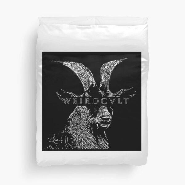 WeirdCvlt Goat Duvet Cover