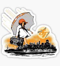 It's Raining Game in SF Sticker