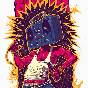 BoomBox Punk by Razz007