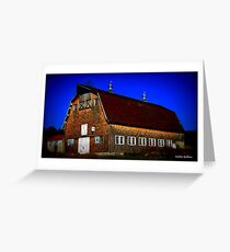 Preston, CT Barn Greeting Card