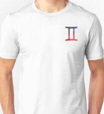 Gemini - The Twins Symbols  T-Shirt