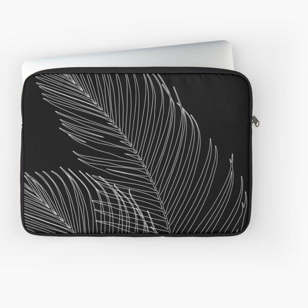 Palm Leaves Finesse Line Art #2 #minimal #decor #art Laptop Sleeve