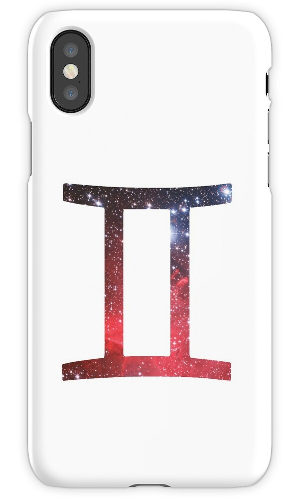 Gemini The Twins Symbols Iphone Cases Skins By Unitycreative