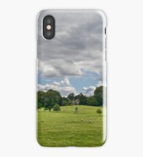 Sheep Grazing the Meadow iPhone Case