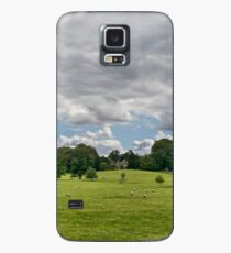 Sheep Grazing the Meadow Case/Skin for Samsung Galaxy