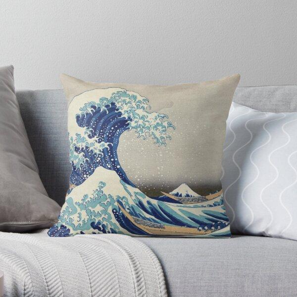 Camisetas, estampados, etc. al mejor precio - Hokusai - la gran ola de Kanagawa - 1823 Cojín