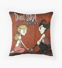 We Won't Starve Together Full Throw Pillow