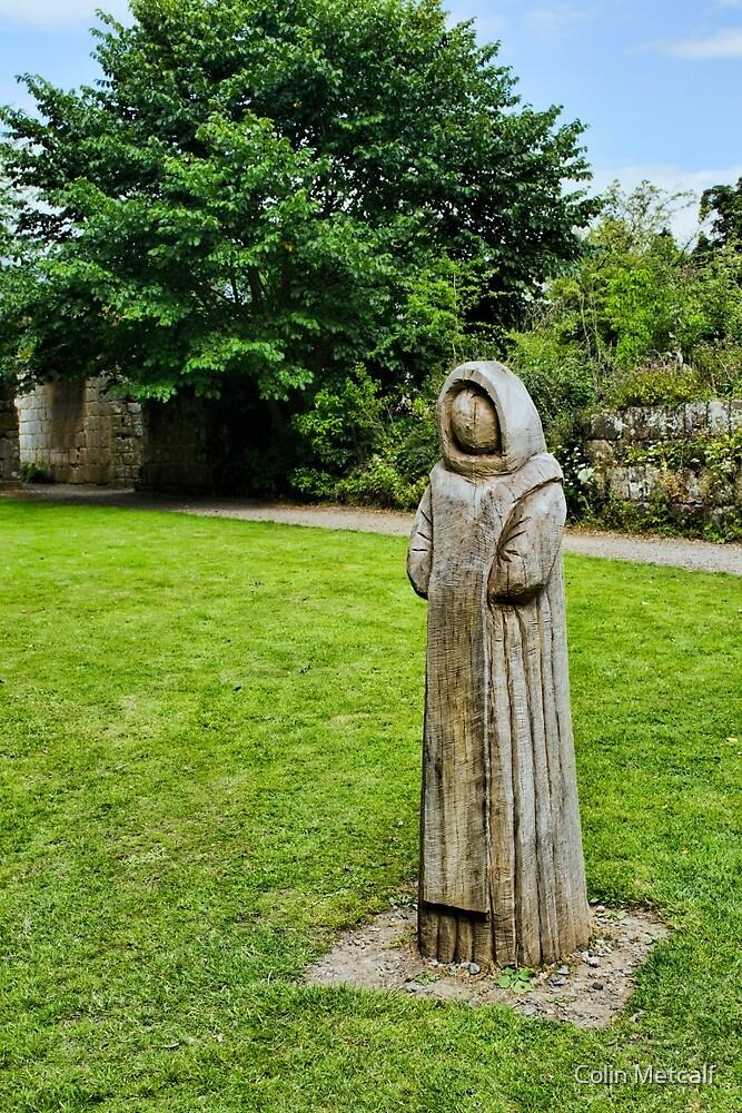Cistercian Monk Sculpture by tyke29
