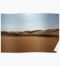 Sand Dunes in Mui Ne Poster