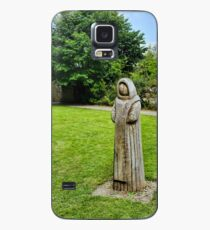 Cistercian Monk Sculpture Case/Skin for Samsung Galaxy