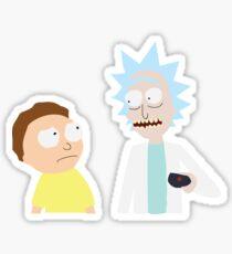 Aw jeez, Rick Sticker