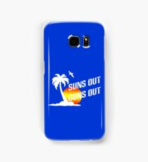 Suns out guns out geek funny nerd Samsung Galaxy Case/Skin
